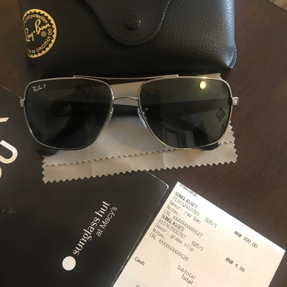 3025e4f1307c Ray-Ban Accessories | Ray Ban Men Polarized Sunglasses From Macys ...